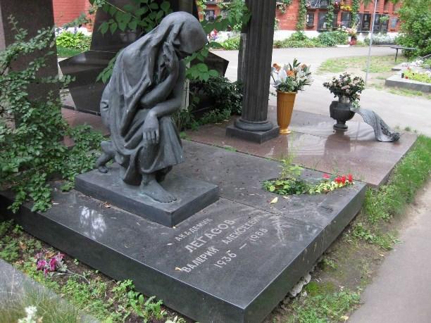 Могила В.Легасова.