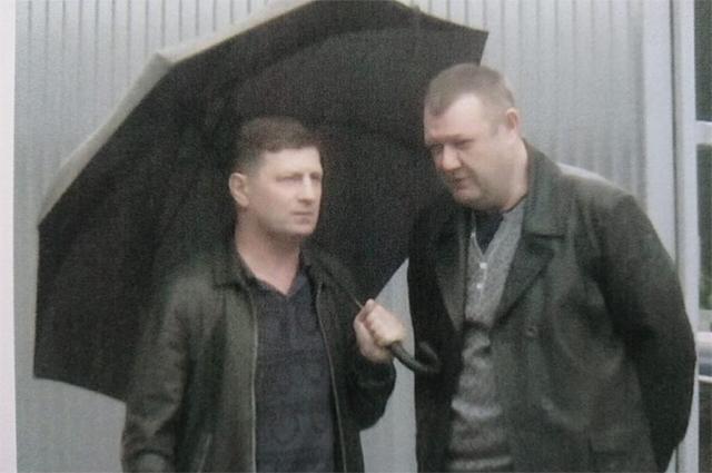 В распоряжении РЕН ТВ оказались кадры встречи Сергея Фургала с Андреем Кареповым.