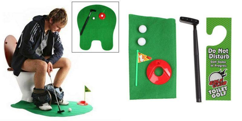 Если ваш мужчина пропадает в пещере вождя, подарите ему мини-гольф. Пусть проводит время с двойной пользой.