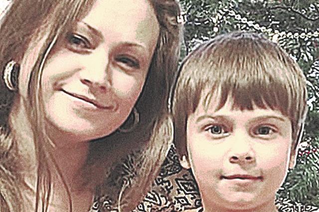 Татьяна Иматова с сыном