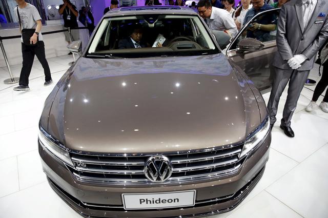 Volkswagen's Phideon.