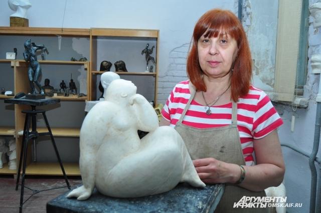 СОздавать скульптуры - дело не простое.