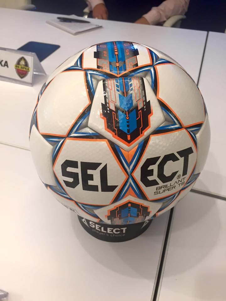 Новый мяч для матчей чемпионата Украины