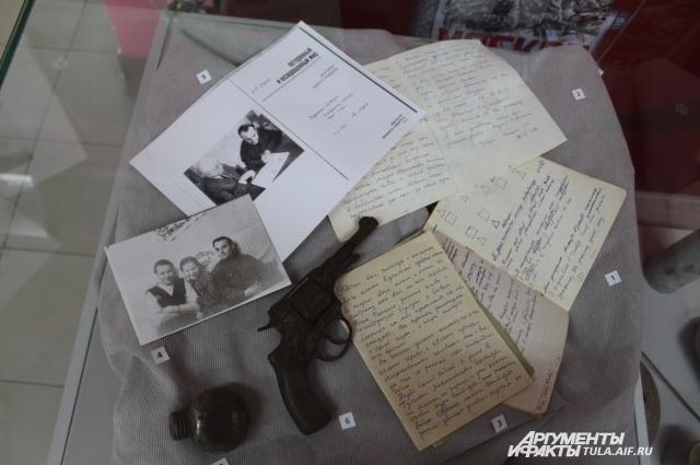 Экспозиция музея, посвященная Льву Засецкому