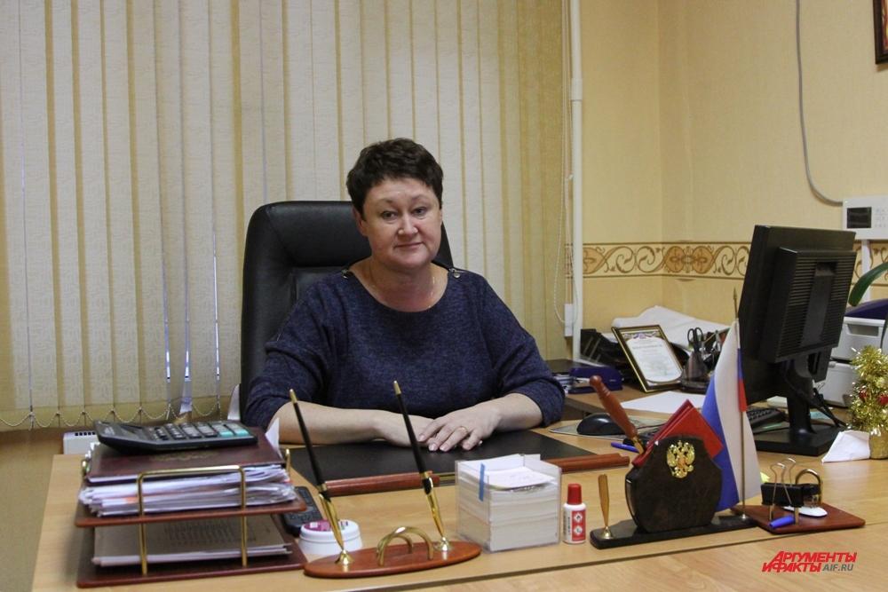 Директор ГБУ «Жилищник» Наталья Пинчукова.