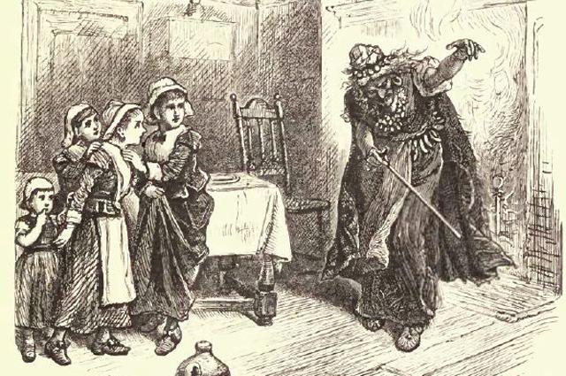 Титуба и дети.