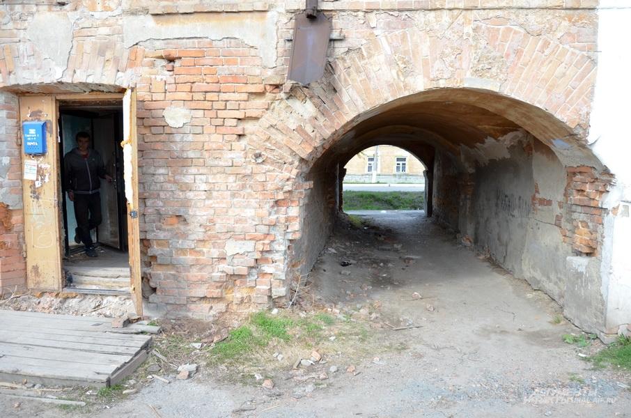 Старые здания Ирбита.