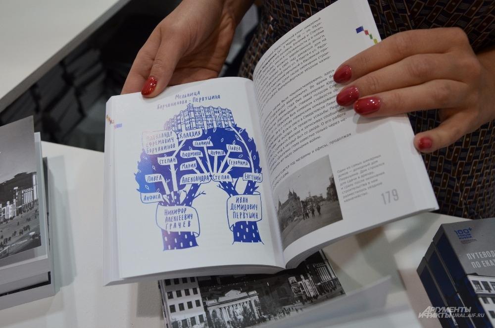 Презентация архитектурного путеводителя по Екатеринбургу на Иннопроме