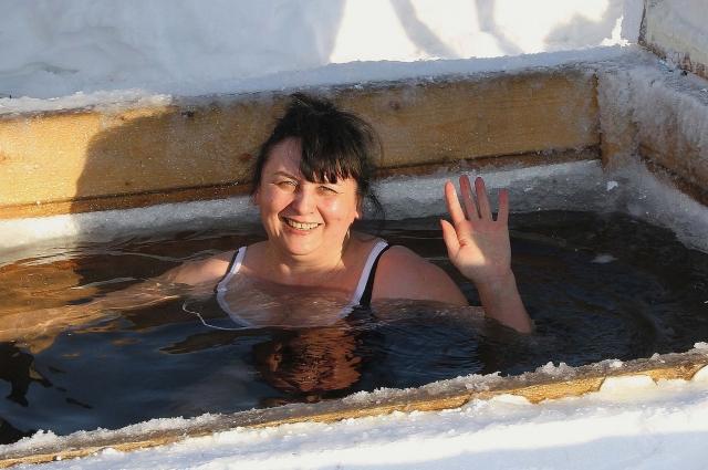 К зимнему плаванию Татьяна Высоцкая приучила и детей, и внуков.