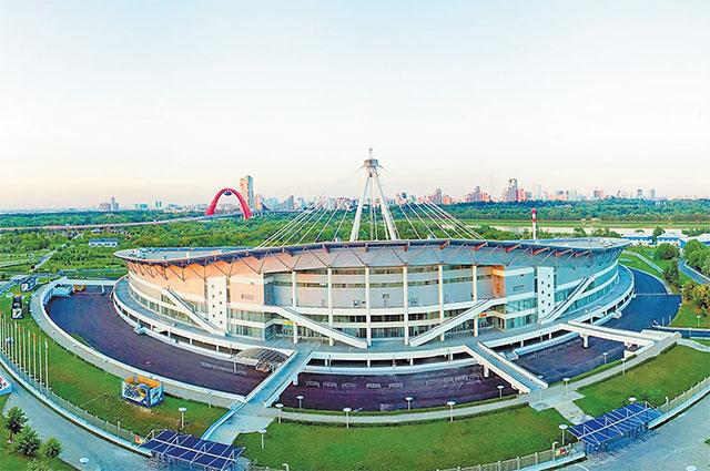 Теперь главный теннисный турнир будет проходить внашем районе наэтой арене.