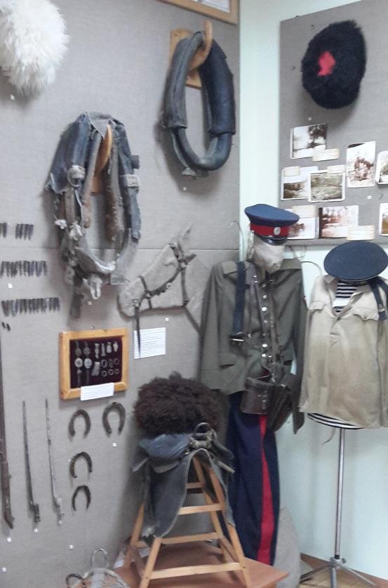 музейные экспонаты, музей в Кагальнике