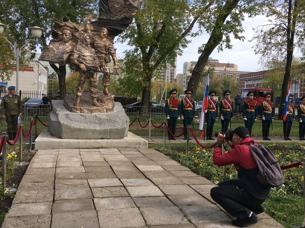 Памятник десантникам в Перми.