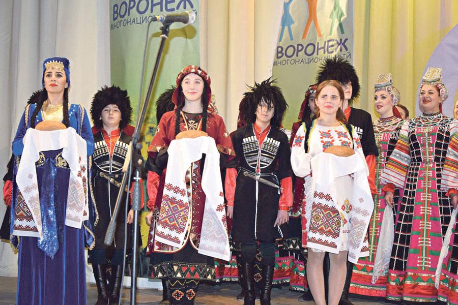 Фестиваль «Воронеж многонациональный» стал уже доброй традицией.