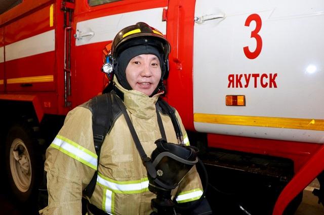 Владимир Татаринов не только огнеборец, но и глава большой семьи.