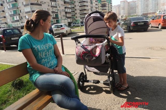 Евгения с двумя детьми бежала из Алчевска в Краснодар