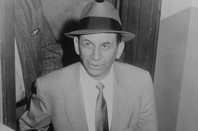 Майер Лански в 1958 году