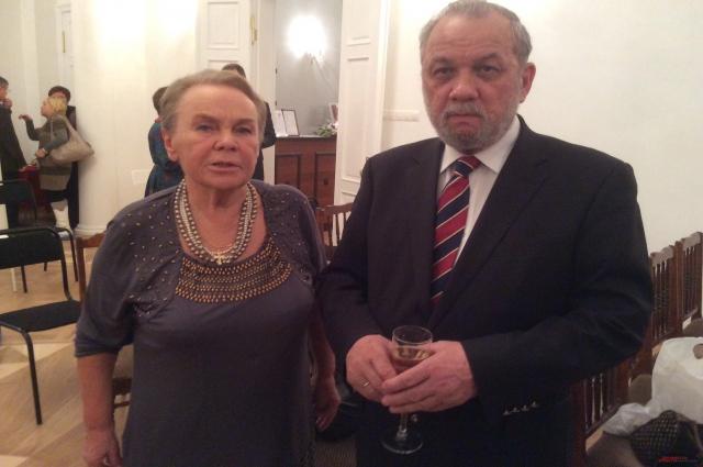 Зураб чавчавадзе и Сильва Казем-бек