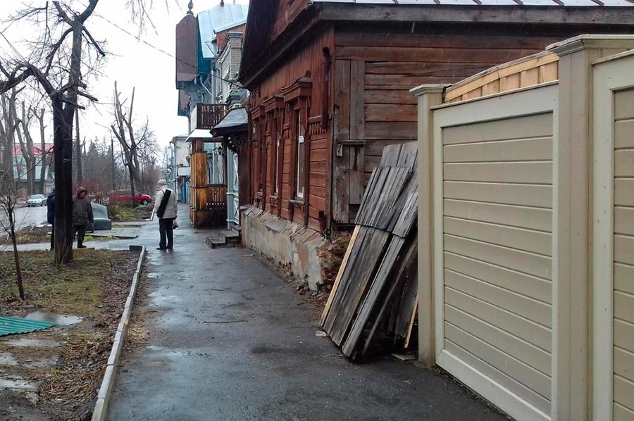 Дом на улице Льва Толстого ветхим не выглядел…