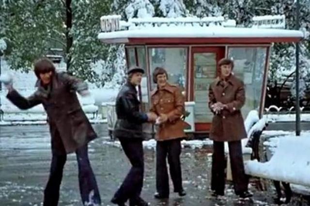 18 сентября 1976 г. неожиданно выпал снег.