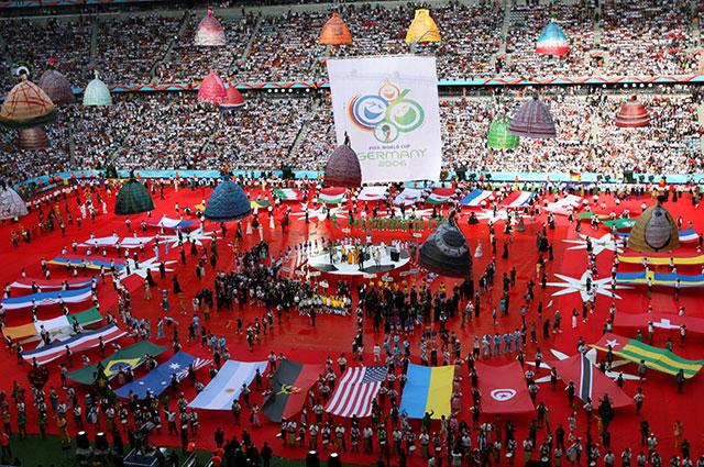 Церемония открытия ЧМ-2006.