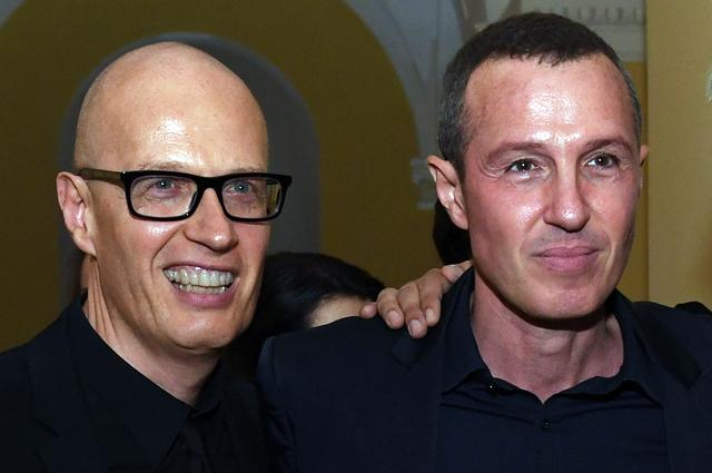 Главный редактор журнала «ОК!», автор теле- и радиопрограмм Вадим Верник и актер Игорь Верник.