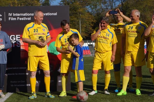 Команда Правительства Ростовской области по футболу.