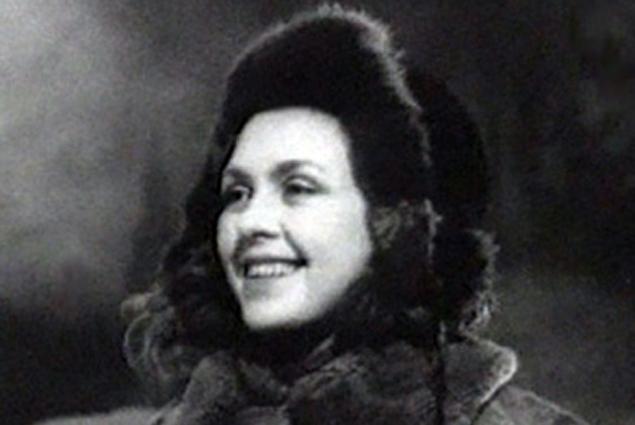 Валентина Караваева в фильме «Машенька», 1942 год