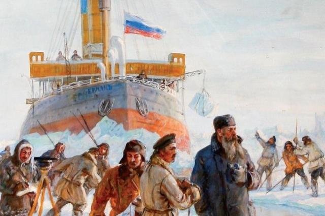 «Ермаку» не удалось достичь Северного Полюса, но в арктических экспедициях он участвовал.