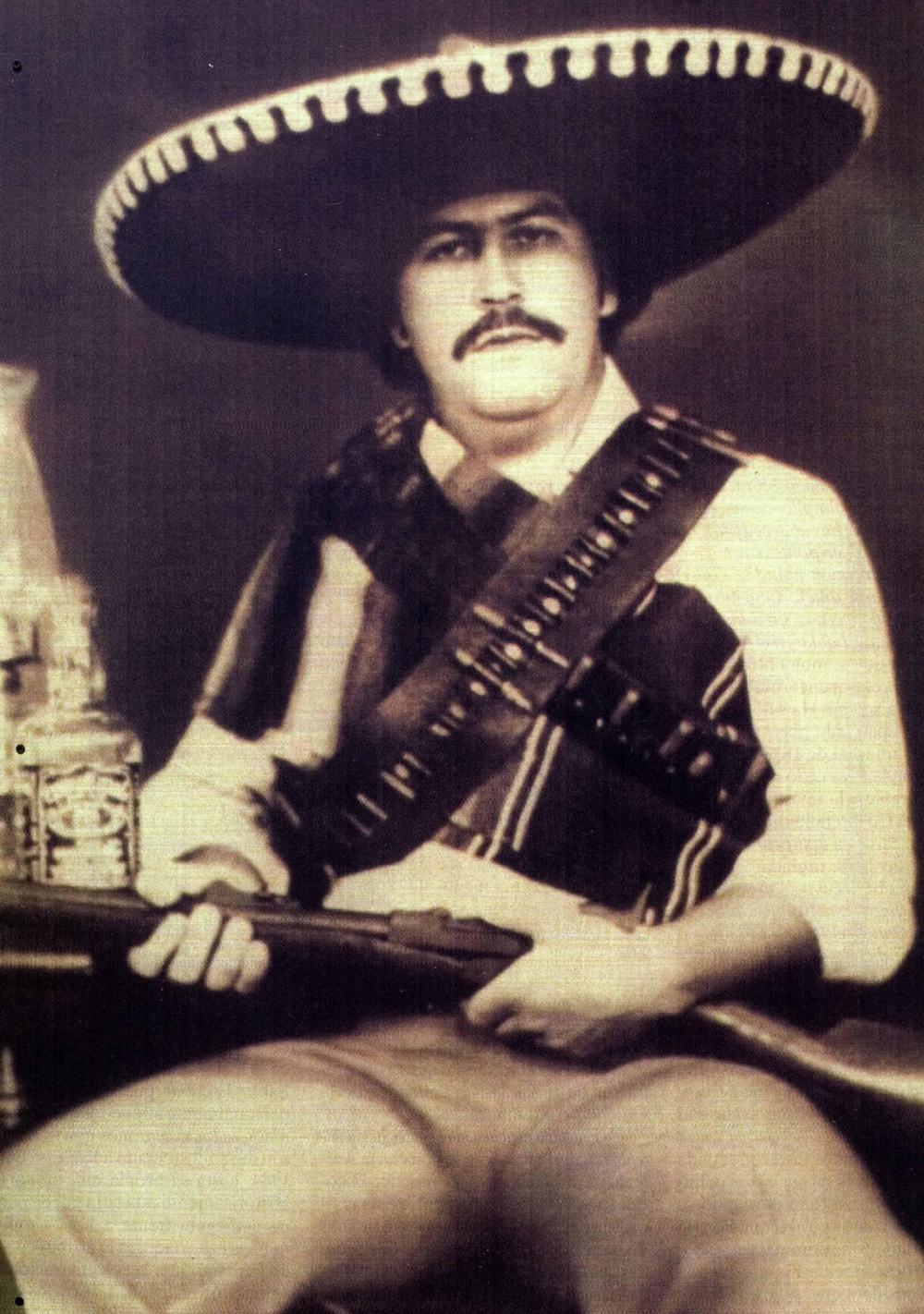 Пабло Эскобар.