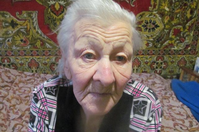Сестра героя - Татьяна Тихоновна Гулькина