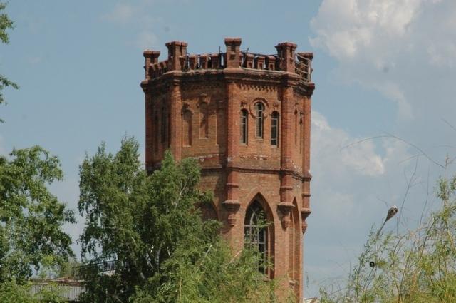 Водонапорная башня в Бузулуке.