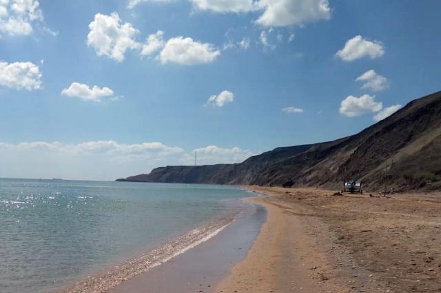 Тот самый дикий пляж в 10 километрах от Веселовки.