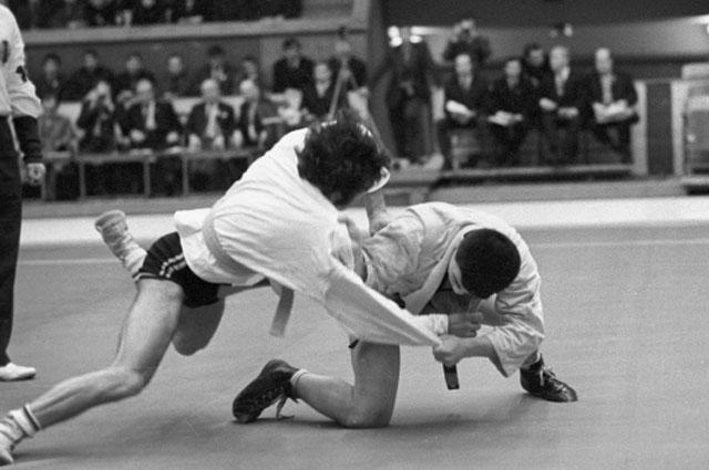 Чемпионат Европы по самбо. 1972 год