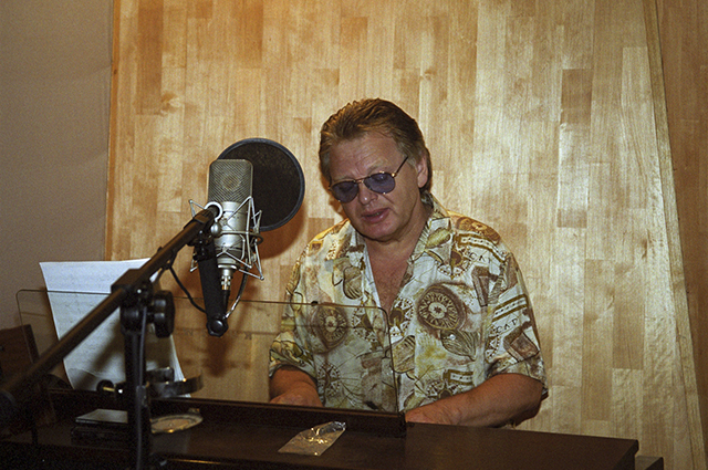 Юрий Антонов на даче. 2008 г