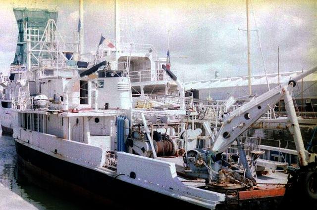 Калипсо в порту Ла-Рошель, 1999 год