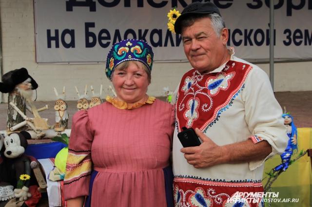 Пенсионеры Репко получают большое удовольствие от своего хобби – изготовления кукол.