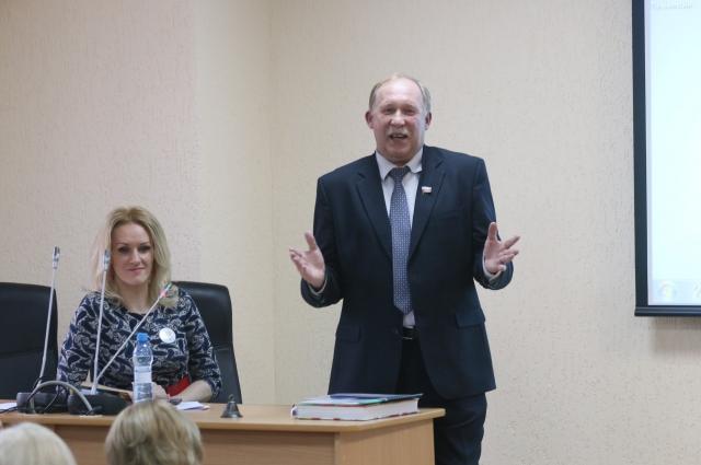 Валерий Лесников на форуме.