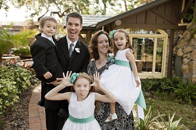 Главное богатство многодетной семьи - дети.