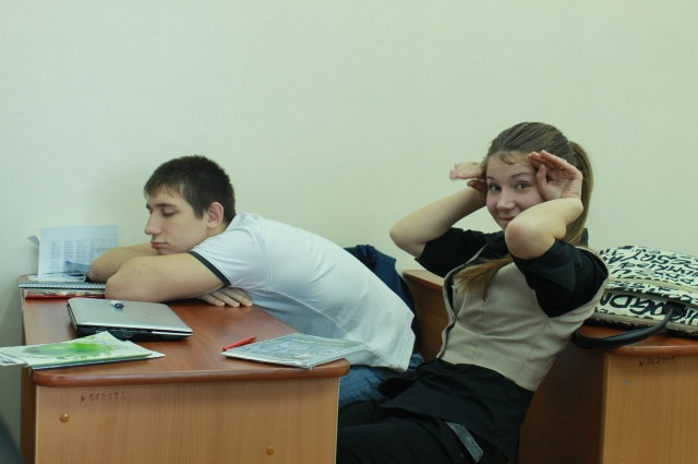 О чем мечтают студенты? О сне!