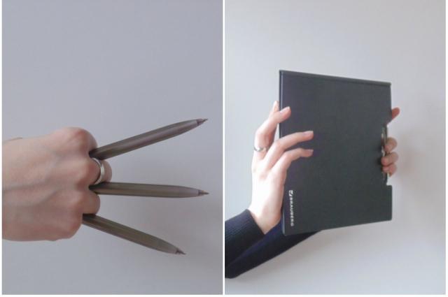 Изначально авторы книги планировали сделать серию фотографий, иллюстрирующих каждый из приёмов, описанных в книге.