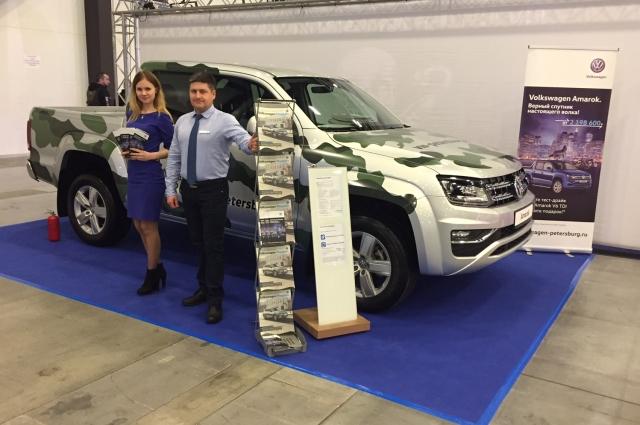 В рамках мероприятия прошел тест-драйв Volkswagen Amarok.