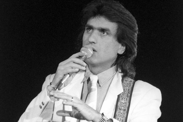 Тото Кутуньо на концерте в Москве. 1985 г.