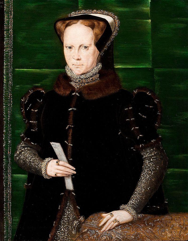 Портрет Марии Тюдор. Ганс Эворт, 1554.