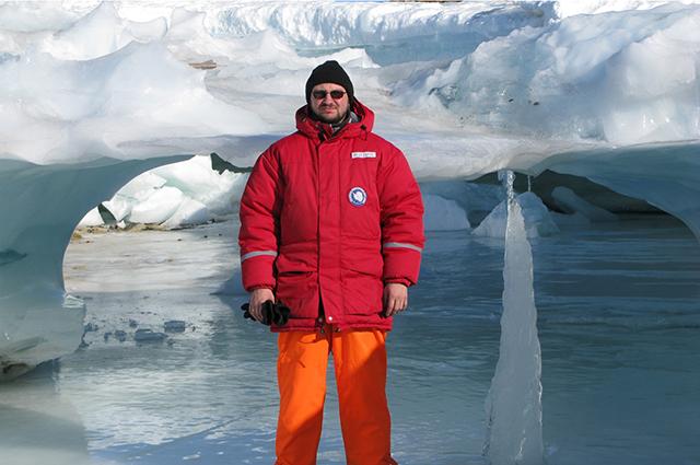 Юрий Мизин более 50 раз побывал на Северном полюсе и в пятый раз будет зимовать на Южном.