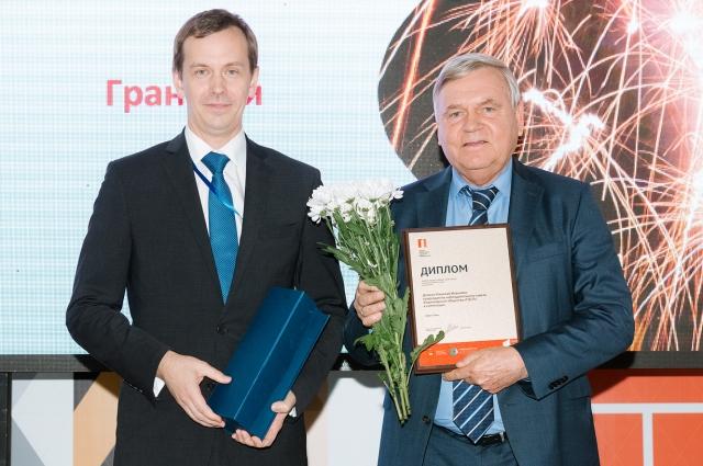 Особую номинацию «Гран-при» получил Заслуженный строитель России, председатель наблюдательного совета «ПЗСП» Николай Дёмкин.