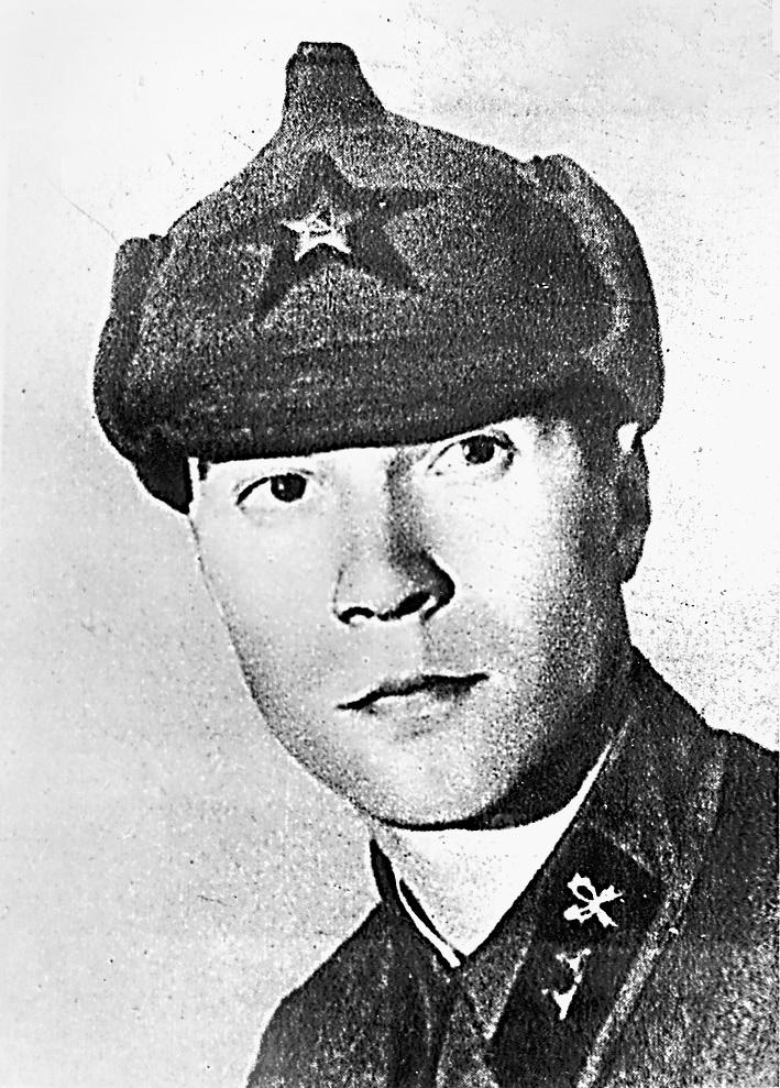 Боец Красной армии Григорий Пушкин, 1937 г.