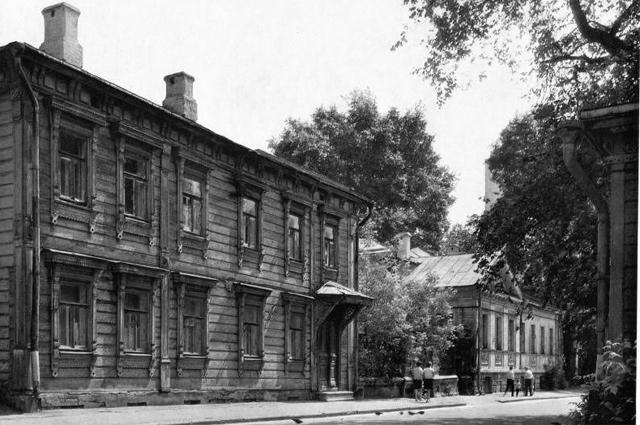 Выползов переулок. Снимок сделан между 1968 1976 годами