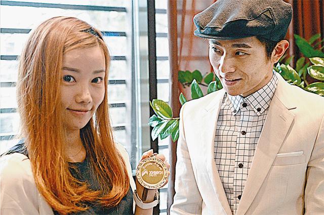 Жена Виктора - симпатичная кореянка Ву Нари