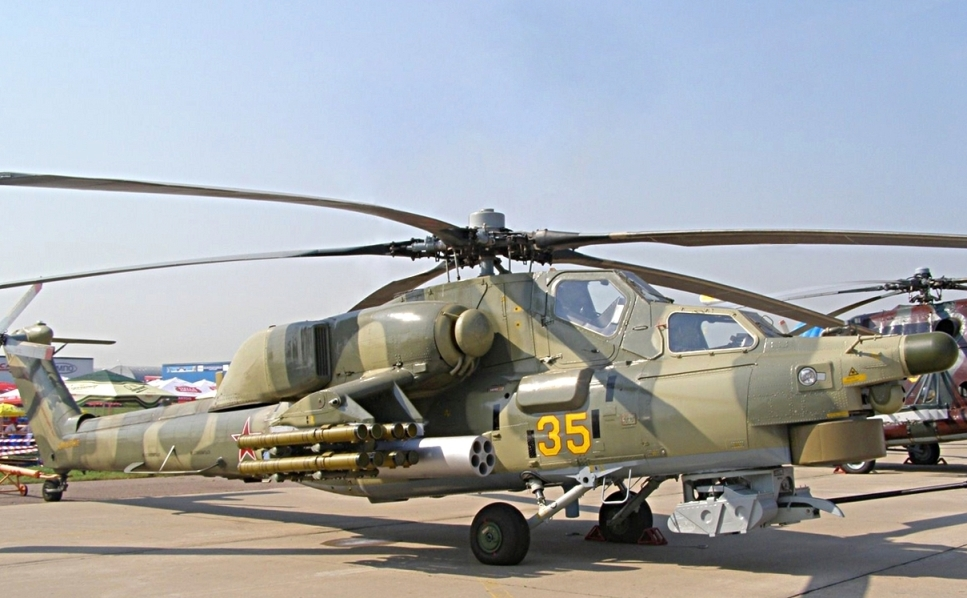 Вертолёт Ми-28Н Ночной охотник