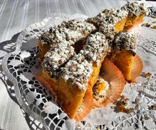 Морковный пирог от Александры Маловой.